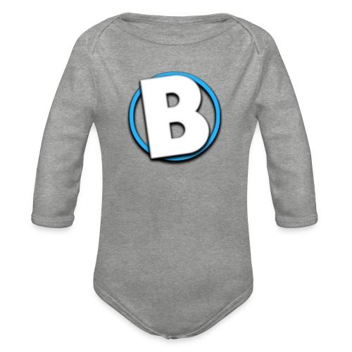 Bumble Logo - Organic Longsleeve Baby Bodysuit