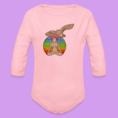 Katt Willow - Organic Longsleeve Baby Bodysuit