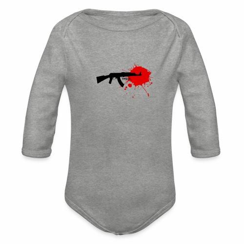Terror - Organic Longsleeve Baby Bodysuit