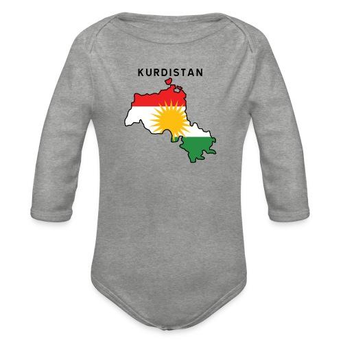 Kurdistan - Ekologisk långärmad babybody
