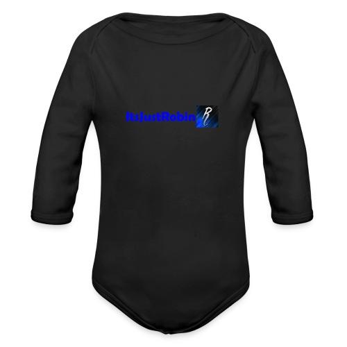 Eerste design. - Organic Longsleeve Baby Bodysuit