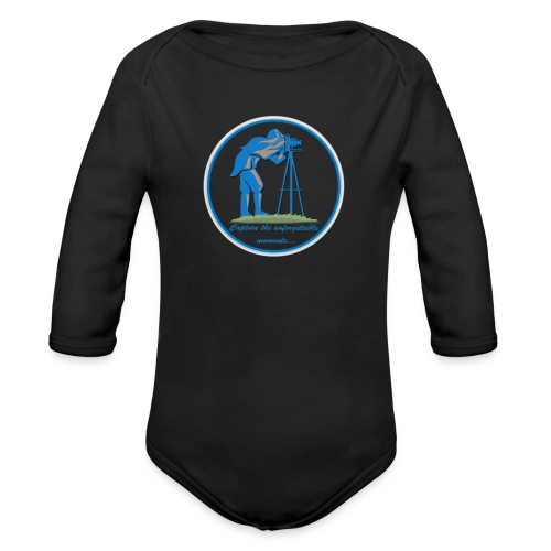 Logo Capture the Moment - Organic Longsleeve Baby Bodysuit