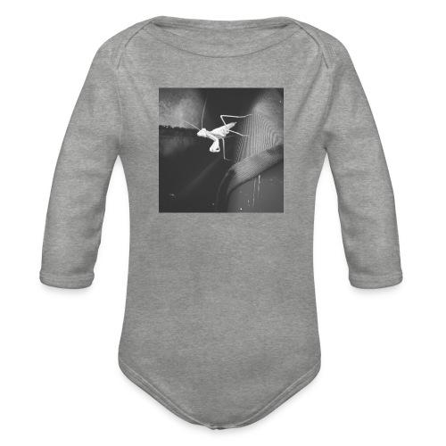 Mantis T-shirt - Body orgánico de manga larga para bebé