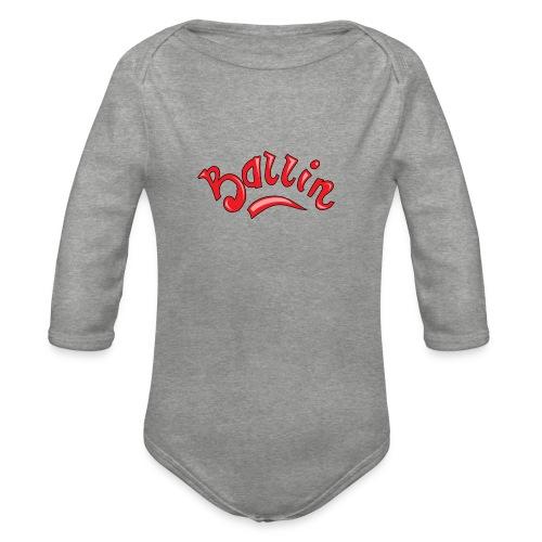 Ballin - Baby bio-rompertje met lange mouwen
