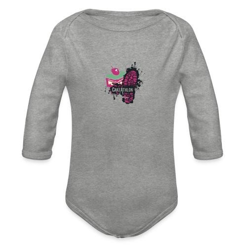 Team OA CakeAthlon - Organic Longsleeve Baby Bodysuit