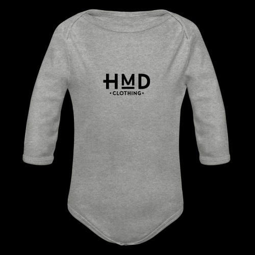 Hmd original logo - Baby bio-rompertje met lange mouwen