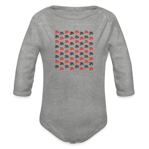 110% style - Body ecologico per neonato a manica lunga