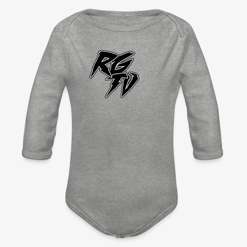 RGTV LOGO - Organic Longsleeve Baby Bodysuit