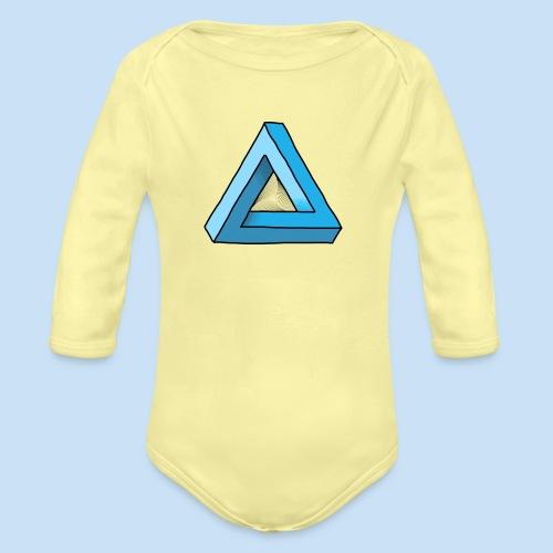 Triangular - Baby Bio-Langarm-Body