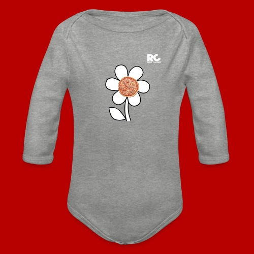 Pizzaflower Edition - Baby Bio-Langarm-Body