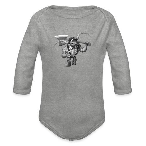Bull Lumberjack - Baby Bio-Langarm-Body