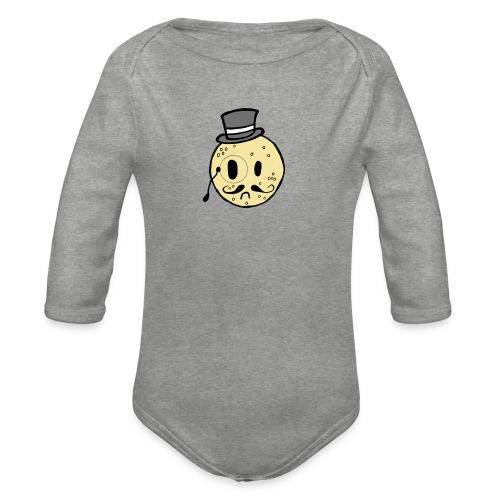 Crumpet Squad Mens T - Organic Longsleeve Baby Bodysuit