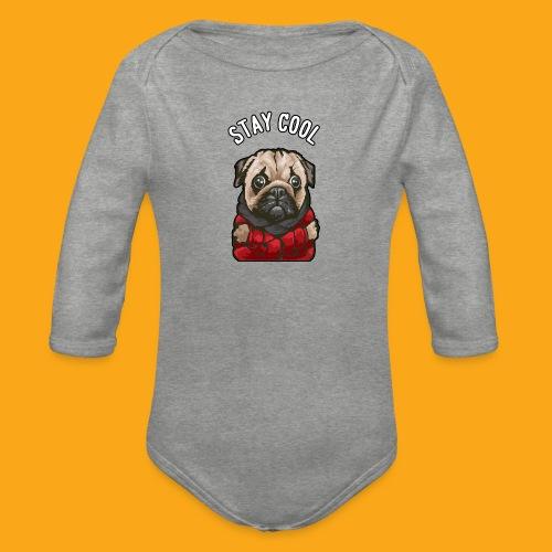 Stay cool Mops - Baby Bio-Langarm-Body