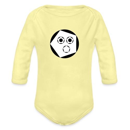 Jack 'Aapje' signatuur - Baby bio-rompertje met lange mouwen