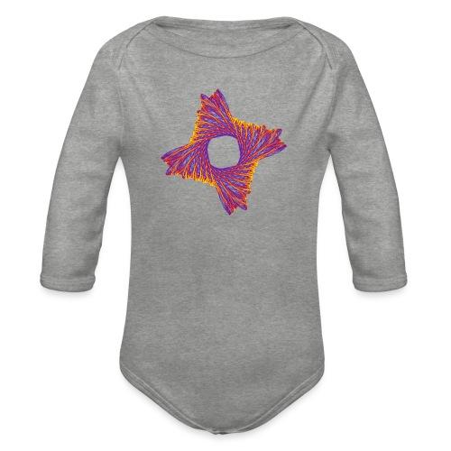 rotating life fire 12162bry - Organic Longsleeve Baby Bodysuit