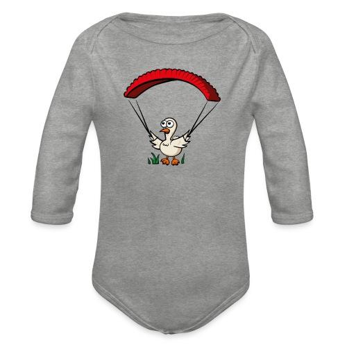 Groundhendl Groundhandling Hendl Paragliding - Baby Bio-Langarm-Body