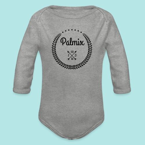 Palmix_wish camiseta mangas color - Organic Longsleeve Baby Bodysuit