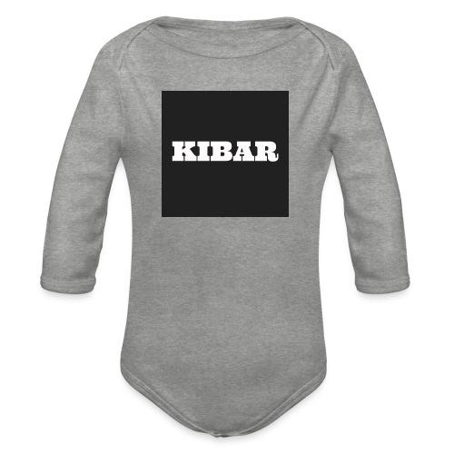KIBAR - Langærmet babybody, økologisk bomuld