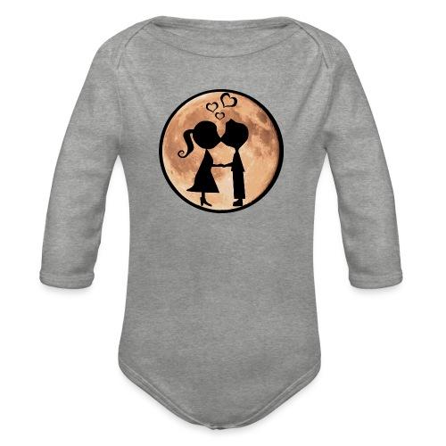 Isle under the Moon - Organic Longsleeve Baby Bodysuit