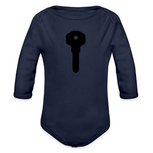Narct - Key To Success - Organic Longsleeve Baby Bodysuit