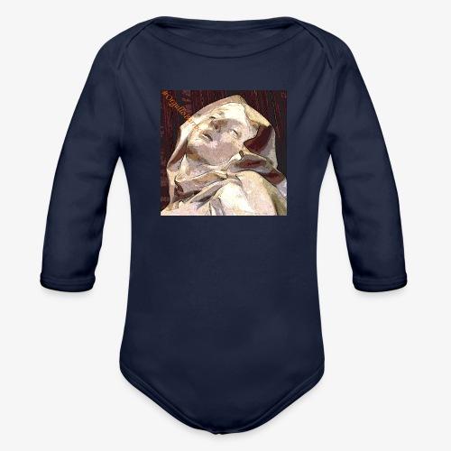#OrgulloBarroco Teresa - Body orgánico de manga larga para bebé