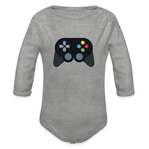 Spil Til Dig Controller Kollektionen - Langærmet babybody, økologisk bomuld