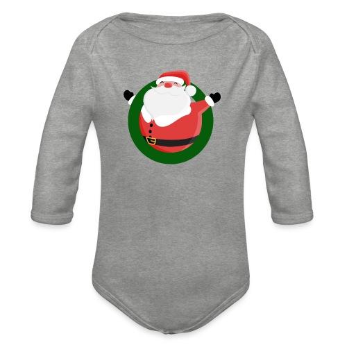 Dagar Till Jul - Ekologisk långärmad babybody