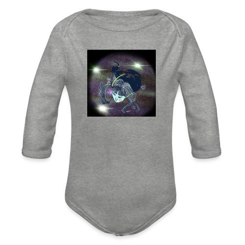 the Star Child - Organic Longsleeve Baby Bodysuit
