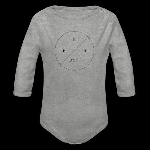 2368 - Organic Longsleeve Baby Bodysuit