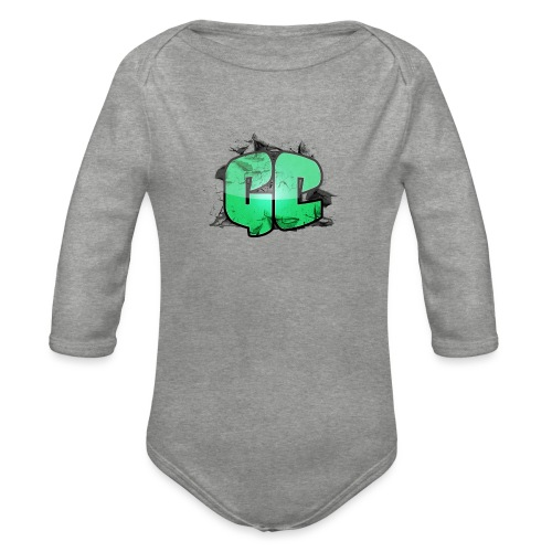 Badge - GC Logo - Langærmet babybody, økologisk bomuld