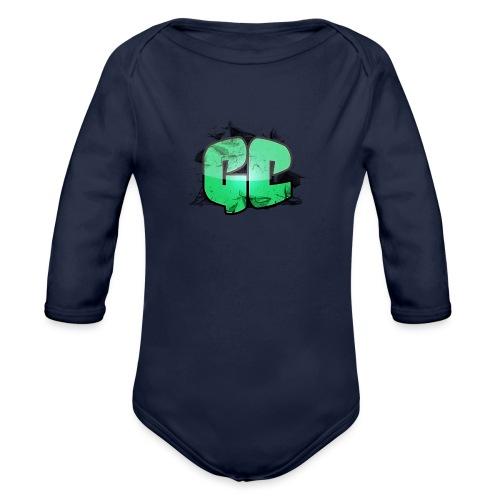 Vandflaske - GC Logo - Langærmet babybody, økologisk bomuld