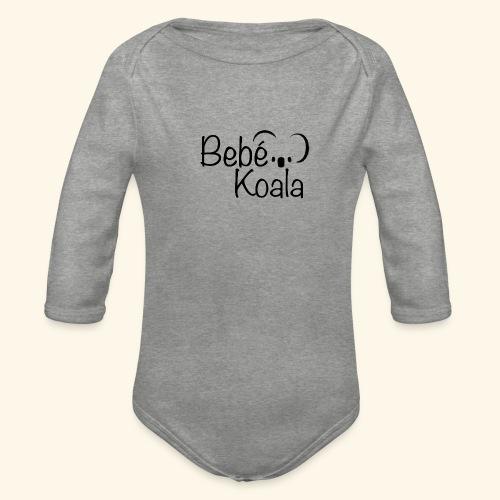 Bebé Koala - Body orgánico de manga larga para bebé