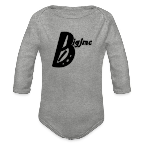 Bigjmc Hoodie - Organic Longsleeve Baby Bodysuit