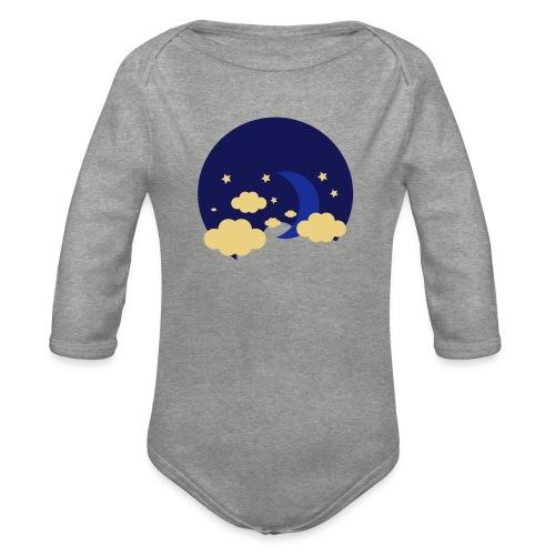 Lune - Body Bébé bio manches longues