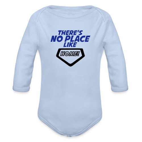 There´s no place like home - Organic Longsleeve Baby Bodysuit