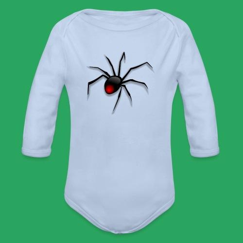 spider logo fantasy - Body ecologico per neonato a manica lunga