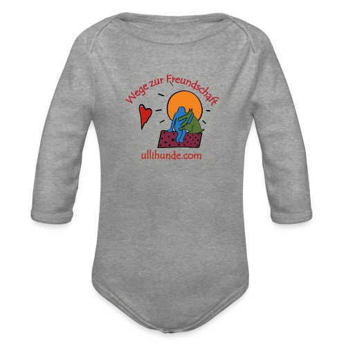 Ullihunde - Wege zur Freundschaft - Baby Bio-Langarm-Body