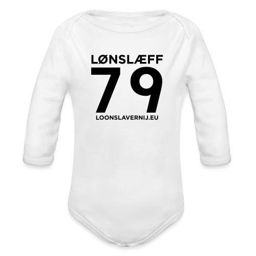 100014365_129748846_loons - Baby bio-rompertje met lange mouwen
