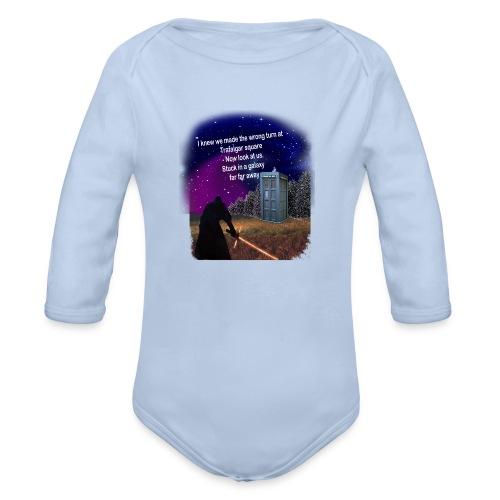 Bad Parking - Organic Longsleeve Baby Bodysuit