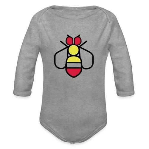 Bee - Organic Longsleeve Baby Bodysuit