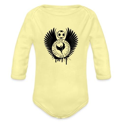 Logo Atletico Alato - Body ecologico per neonato a manica lunga