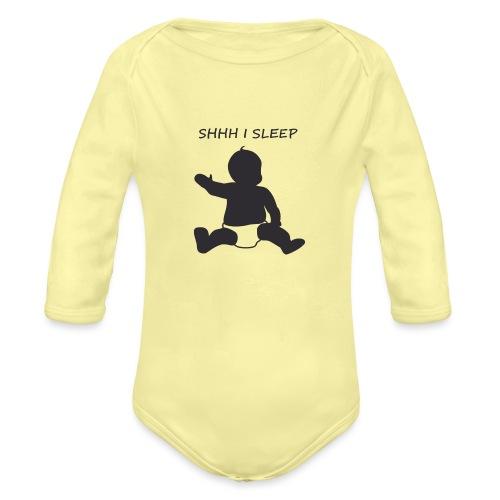 SHH I SLEEP - Body Bébé bio manches longues