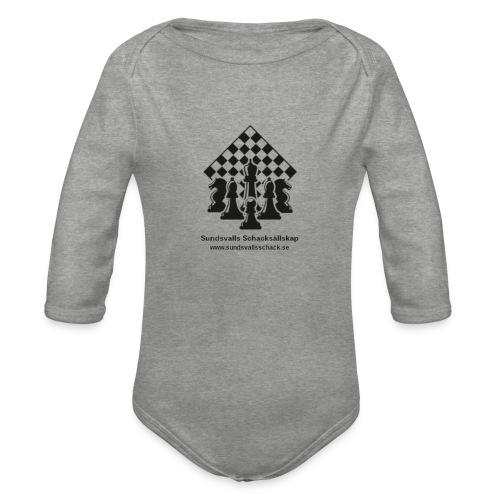 Sundsvalls Schacksällskap - Ekologisk långärmad babybody