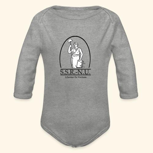 Uniemaagd 2 - Baby bio-rompertje met lange mouwen