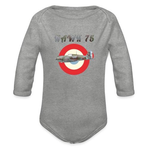 Hawk 75 - Organic Longsleeve Baby Bodysuit