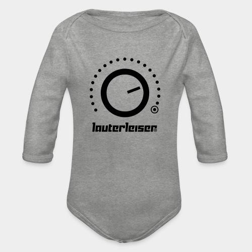 Lauterleiser ® - Baby Bio-Langarm-Body