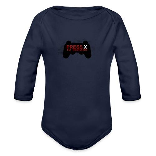 X. - Organic Longsleeve Baby Bodysuit