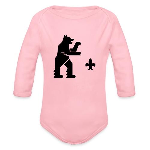 hemelogovektori - Vauvan pitkähihainen luomu-body