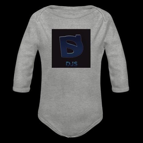 DJS_Logo - Organic Longsleeve Baby Bodysuit