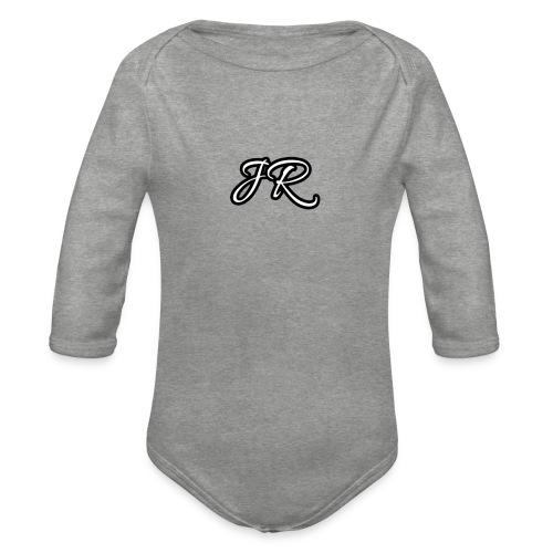 JR Logo Mens T-Shirt - Organic Longsleeve Baby Bodysuit